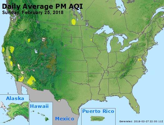 Peak Particles PM2.5 (24-hour) - https://files.airnowtech.org/airnow/2018/20180225/peak_pm25_usa.jpg