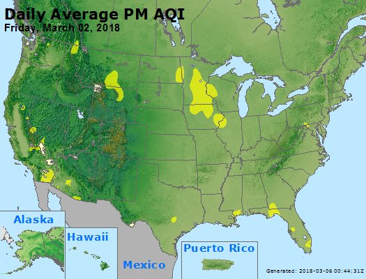 Peak Particles PM2.5 (24-hour) - https://files.airnowtech.org/airnow/2018/20180302/peak_pm25_usa.jpg