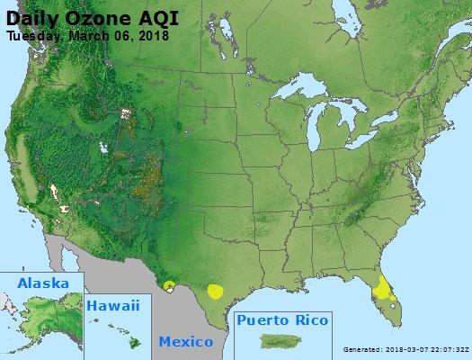 Peak Ozone (8-hour) - https://files.airnowtech.org/airnow/2018/20180306/peak_o3_usa.jpg