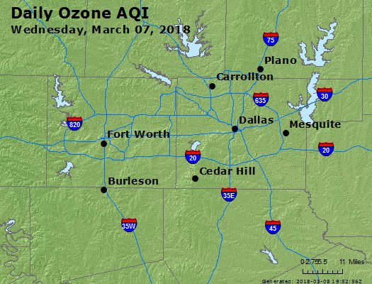 Peak Ozone (8-hour) - https://files.airnowtech.org/airnow/2018/20180307/peak_o3_dallas_tx.jpg