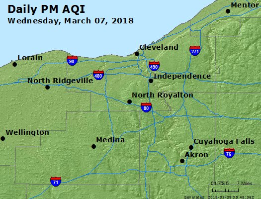 Peak Particles PM2.5 (24-hour) - https://files.airnowtech.org/airnow/2018/20180307/peak_pm25_cleveland_oh.jpg