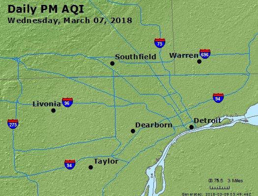 Peak Particles PM2.5 (24-hour) - https://files.airnowtech.org/airnow/2018/20180307/peak_pm25_detroit_mi.jpg