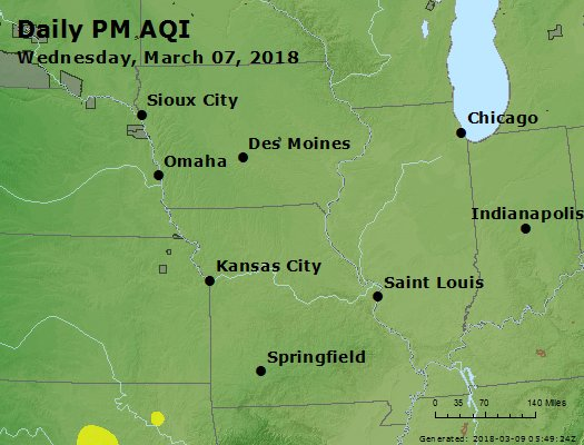 Peak Particles PM2.5 (24-hour) - https://files.airnowtech.org/airnow/2018/20180307/peak_pm25_ia_il_mo.jpg