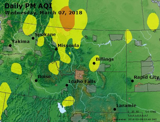 Peak Particles PM2.5 (24-hour) - https://files.airnowtech.org/airnow/2018/20180307/peak_pm25_mt_id_wy.jpg