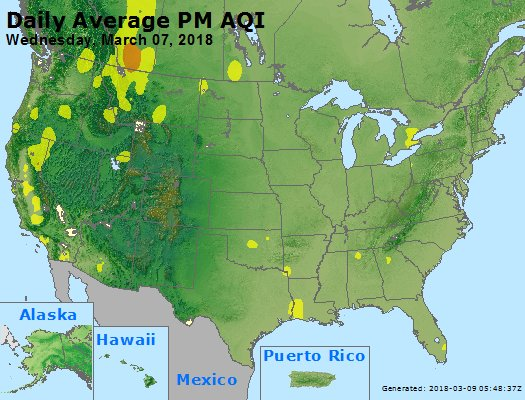 Peak Particles PM2.5 (24-hour) - https://files.airnowtech.org/airnow/2018/20180307/peak_pm25_usa.jpg