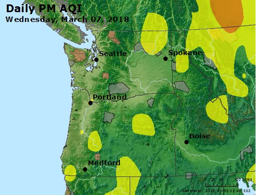 Peak Particles PM2.5 (24-hour) - https://files.airnowtech.org/airnow/2018/20180307/peak_pm25_wa_or.jpg