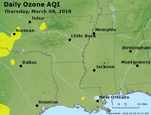 Peak Ozone (8-hour) - https://files.airnowtech.org/airnow/2018/20180308/peak_o3_ar_la_ms.jpg
