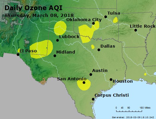Peak Ozone (8-hour) - https://files.airnowtech.org/airnow/2018/20180308/peak_o3_tx_ok.jpg