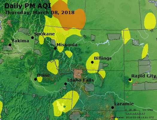 Peak Particles PM2.5 (24-hour) - https://files.airnowtech.org/airnow/2018/20180308/peak_pm25_mt_id_wy.jpg