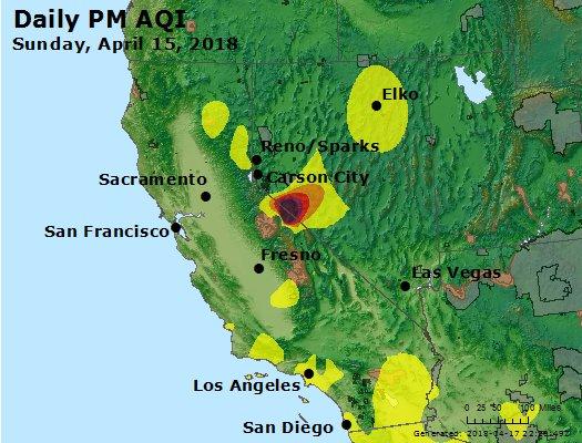 Peak Particles PM2.5 (24-hour) - https://files.airnowtech.org/airnow/2018/20180415/peak_pm25_ca_nv.jpg