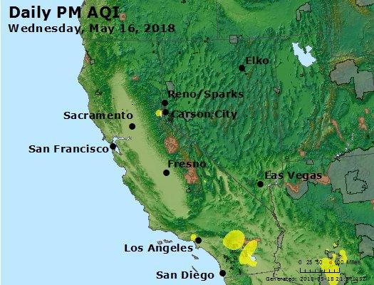 Peak Particles PM2.5 (24-hour) - https://files.airnowtech.org/airnow/2018/20180516/peak_pm25_ca_nv.jpg