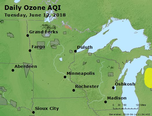 Peak Ozone (8-hour) - https://files.airnowtech.org/airnow/2018/20180612/peak_o3_mn_wi.jpg