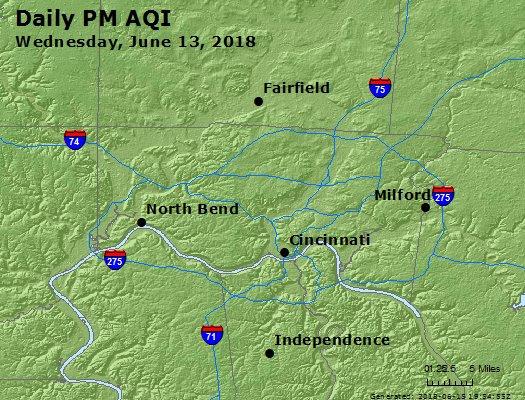 Peak Particles PM2.5 (24-hour) - https://files.airnowtech.org/airnow/2018/20180613/peak_pm25_cincinnati_oh.jpg