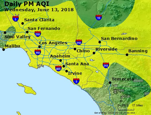 Peak Particles PM2.5 (24-hour) - https://files.airnowtech.org/airnow/2018/20180613/peak_pm25_losangeles_ca.jpg