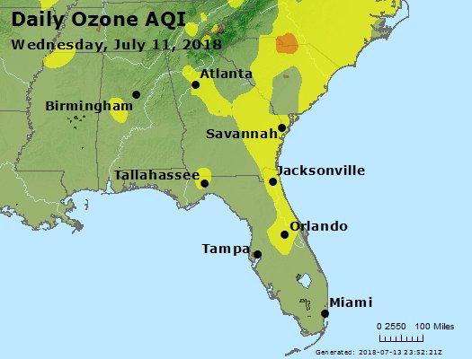 Peak Ozone (8-hour) - https://files.airnowtech.org/airnow/2018/20180711/peak_o3_al_ga_fl.jpg