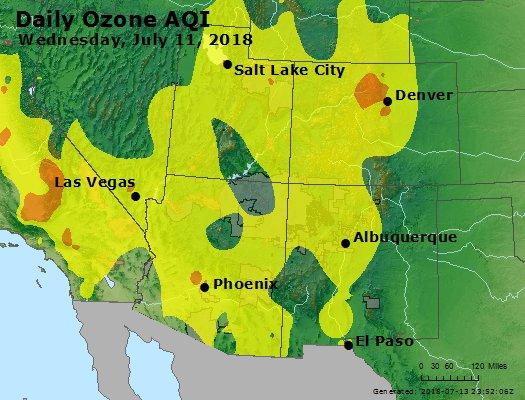 Peak Ozone (8-hour) - https://files.airnowtech.org/airnow/2018/20180711/peak_o3_co_ut_az_nm.jpg