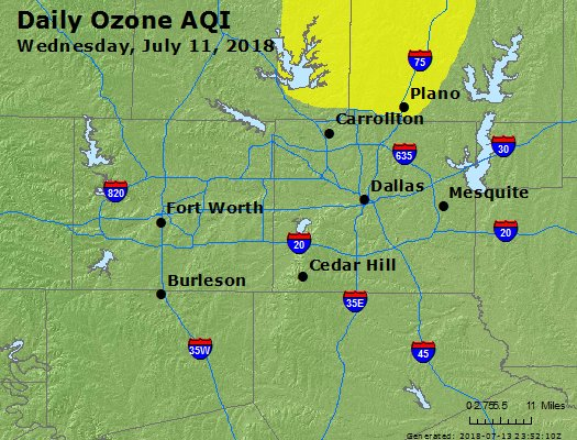 Peak Ozone (8-hour) - https://files.airnowtech.org/airnow/2018/20180711/peak_o3_dallas_tx.jpg