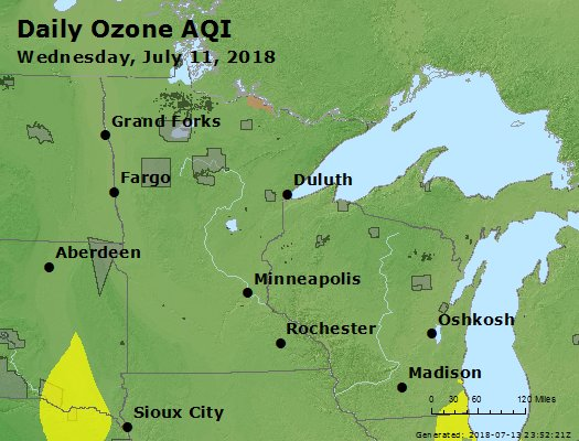 Peak Ozone (8-hour) - https://files.airnowtech.org/airnow/2018/20180711/peak_o3_mn_wi.jpg
