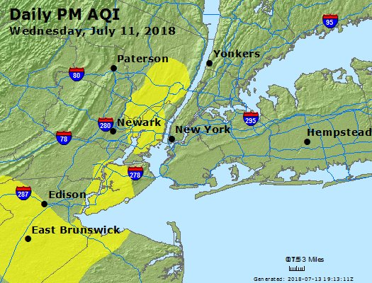 Peak Particles PM2.5 (24-hour) - https://files.airnowtech.org/airnow/2018/20180711/peak_pm25_newyork_ny.jpg