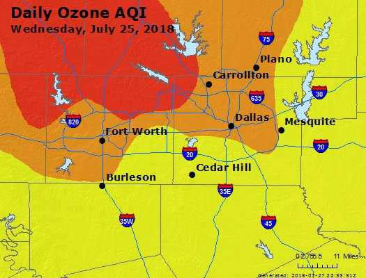 AirNow - Dallas-Fort Worth, TX Air Quality