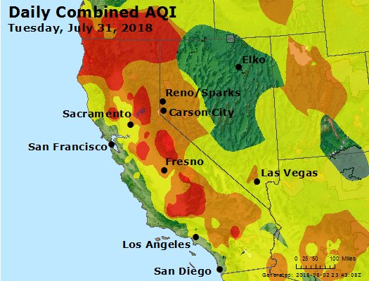 AirNow - Death Valley National Park, CA Air Quality