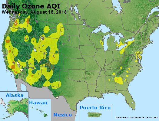 Peak Ozone (8-hour) - https://files.airnowtech.org/airnow/2018/20180815/peak_o3_usa.jpg