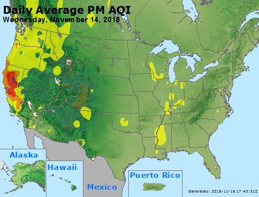 Peak Particles PM2.5 (24-hour) - https://files.airnowtech.org/airnow/2018/20181114/peak_pm25_usa.jpg