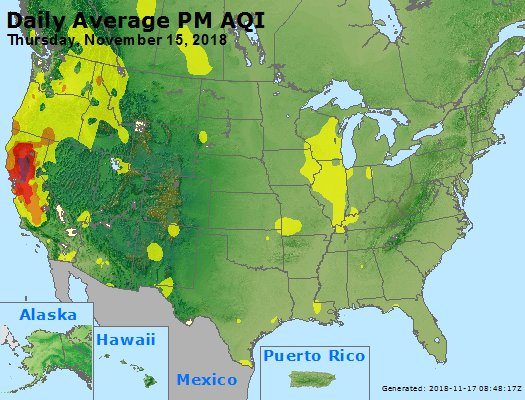 Peak Particles PM2.5 (24-hour) - https://files.airnowtech.org/airnow/2018/20181115/peak_pm25_usa.jpg