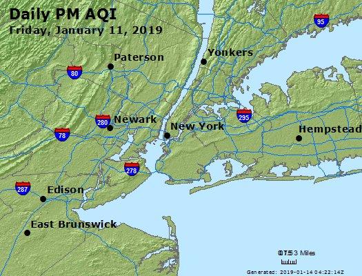 Peak Particles PM2.5 (24-hour) - https://files.airnowtech.org/airnow/2019/20190111/peak_pm25_newyork_ny.jpg