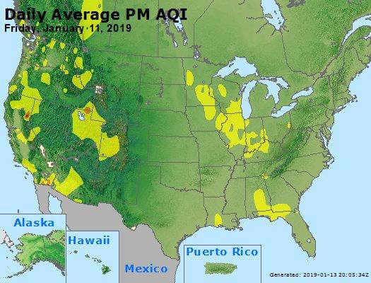 Peak Particles PM2.5 (24-hour) - https://files.airnowtech.org/airnow/2019/20190111/peak_pm25_usa.jpg