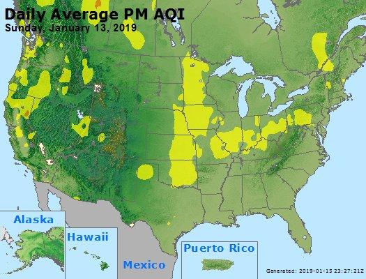 Peak Particles PM2.5 (24-hour) - https://files.airnowtech.org/airnow/2019/20190113/peak_pm25_usa.jpg