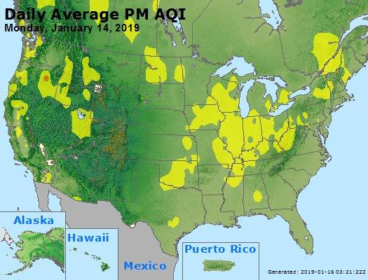Peak Particles PM2.5 (24-hour) - https://files.airnowtech.org/airnow/2019/20190114/peak_pm25_usa.jpg