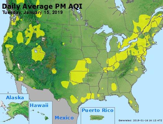 Peak Particles PM2.5 (24-hour) - https://files.airnowtech.org/airnow/2019/20190115/peak_pm25_usa.jpg