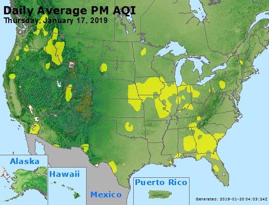 Peak Particles PM2.5 (24-hour) - https://files.airnowtech.org/airnow/2019/20190117/peak_pm25_usa.jpg