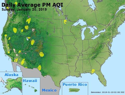 Peak Particles PM2.5 (24-hour) - https://files.airnowtech.org/airnow/2019/20190120/peak_pm25_usa.jpg