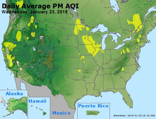 Peak Particles PM2.5 (24-hour) - https://files.airnowtech.org/airnow/2019/20190123/peak_pm25_usa.jpg