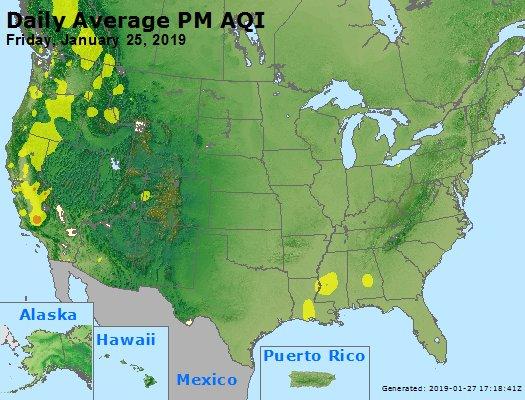 Peak Particles PM2.5 (24-hour) - https://files.airnowtech.org/airnow/2019/20190125/peak_pm25_usa.jpg