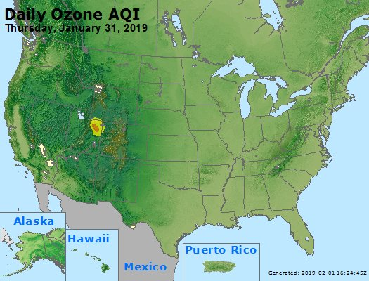 Peak Ozone (8-hour) - https://files.airnowtech.org/airnow/2019/20190131/peak_o3_usa.jpg