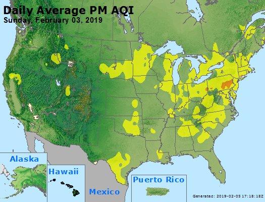 Peak Particles PM2.5 (24-hour) - https://files.airnowtech.org/airnow/2019/20190203/peak_pm25_usa.jpg