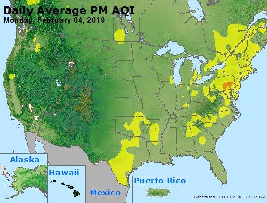Peak Particles PM2.5 (24-hour) - https://files.airnowtech.org/airnow/2019/20190204/peak_pm25_usa.jpg