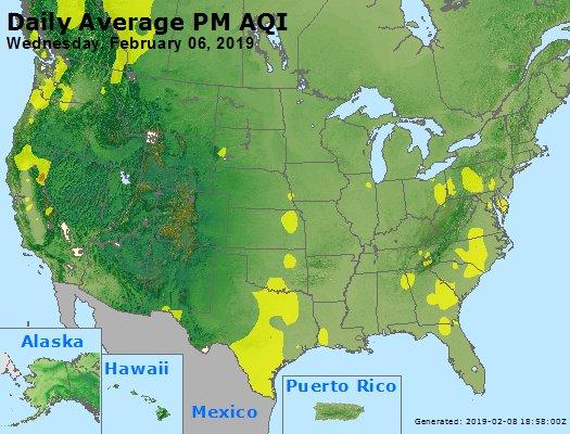 Peak Particles PM2.5 (24-hour) - https://files.airnowtech.org/airnow/2019/20190206/peak_pm25_usa.jpg