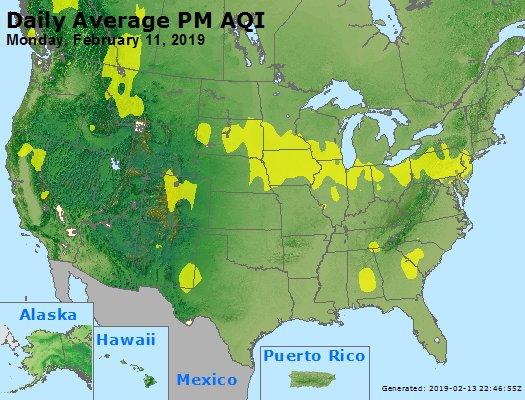Peak Particles PM2.5 (24-hour) - https://files.airnowtech.org/airnow/2019/20190211/peak_pm25_usa.jpg