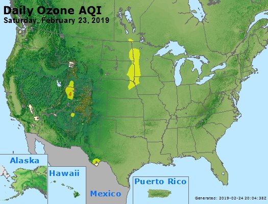 Peak Ozone (8-hour) - https://files.airnowtech.org/airnow/2019/20190223/peak_o3_usa.jpg