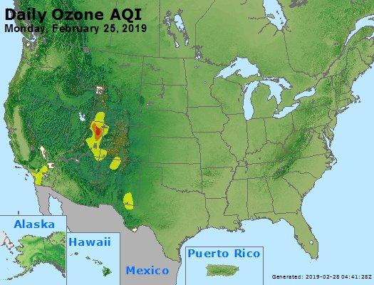 Peak Ozone (8-hour) - https://files.airnowtech.org/airnow/2019/20190225/peak_o3_usa.jpg