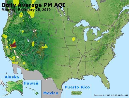 Peak Particles PM2.5 (24-hour) - https://files.airnowtech.org/airnow/2019/20190225/peak_pm25_usa.jpg