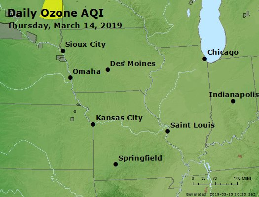 Peak Ozone (8-hour) - https://files.airnowtech.org/airnow/2019/20190314/peak_o3_ia_il_mo.jpg
