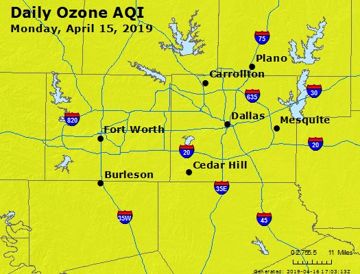 Peak Ozone (8-hour) - https://files.airnowtech.org/airnow/2019/20190415/peak_o3_dallas_tx.jpg