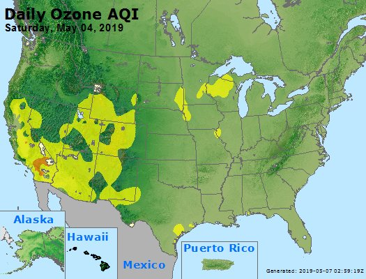 Peak Ozone (8-hour) - https://files.airnowtech.org/airnow/2019/20190504/peak_o3_usa.jpg