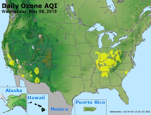 Peak Ozone (8-hour) - https://files.airnowtech.org/airnow/2019/20190508/peak_o3_usa.jpg