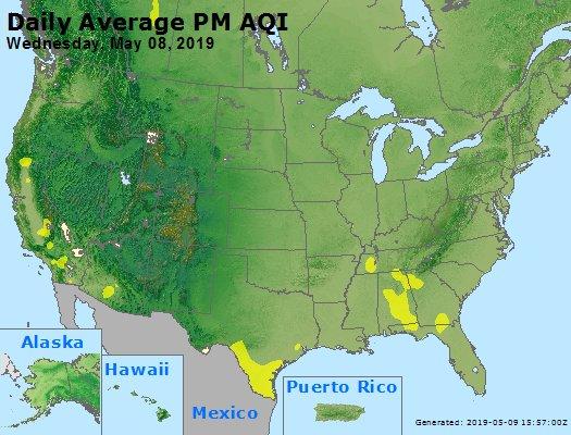 Peak Particles PM2.5 (24-hour) - https://files.airnowtech.org/airnow/2019/20190508/peak_pm25_usa.jpg